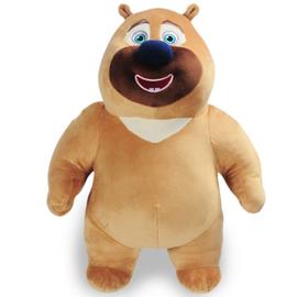 多多堡 熊熊乐园 熊出没毛绒玩具公仔熊大熊二团子雪熊强子狗熊儿童节日礼物 小熊二  3种尺寸
