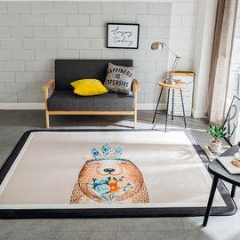 卡佩利丝 丛林熊北欧简约地垫儿童爬行垫飘窗垫(多规格可选厚度1.5cm)