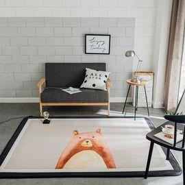 卡佩利丝 小熊北欧简约地垫儿童爬行垫飘窗垫(多规格可选厚度1.5cm)