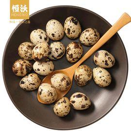 恒沃 新鲜生鹌鹑蛋50枚 可代煮 宝宝天然营养辅食包邮