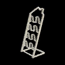 【严选】黑凤梨 房型折叠拖鞋架