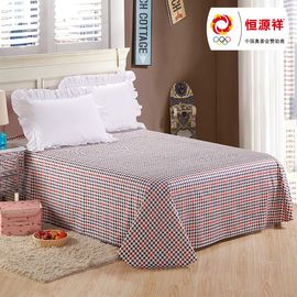 恒源祥 双人2米床纯棉床单 写意风格TBK3001
