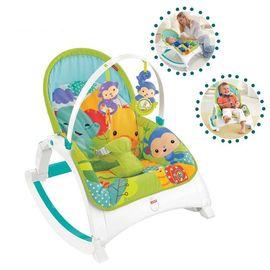 费雪  费雪(Fisher Price) 多功能轻便摇椅DMR87儿童生活用品智能玩具