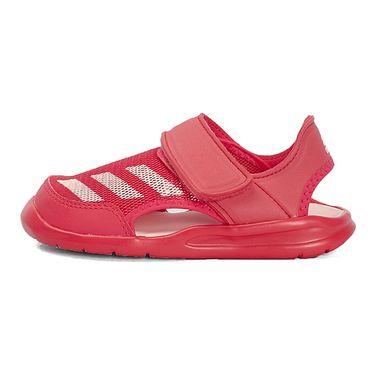 阿迪达斯 adidas 女童 小童FortaSwim C游泳凉鞋 BA9378