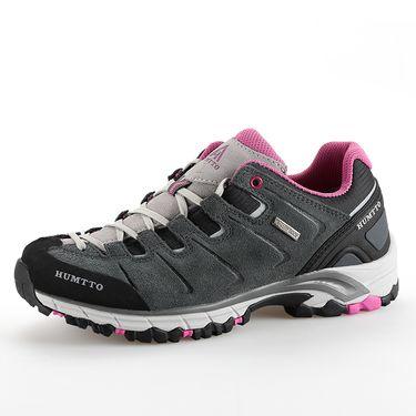 悍途/HUMTTO 男女款反绒皮休闲徒步鞋 防滑透气户外运动登山鞋 1639