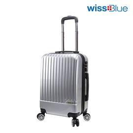 维仕蓝 Wissblue万向轮拉杆箱20寸登机箱男女行李箱密码硬箱B717  (由于发货量较大,颜色随机发送)