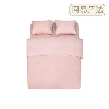 网易严选 【严选】竹语初棉撞色四件套