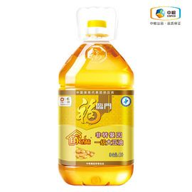 福临门 【中粮福临门1.9-1.12品牌钜献】福临门 食用油 非转基因家香味一级大豆油  5L