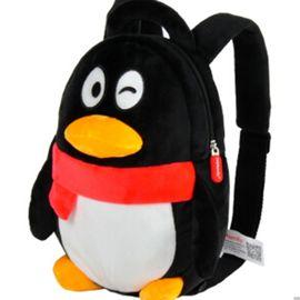 多多堡  盟世奇 多多堡 腾讯QQfamily儿童书包 双肩背包毛绒玩具生日礼物babyQ QQ背包