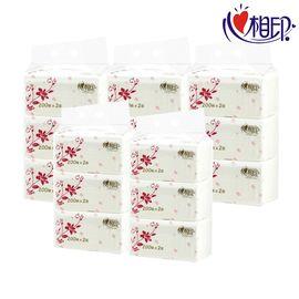 心相印 家用纸巾组合  200抽软抽15包