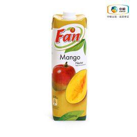 中粮 【中粮海外直采】Fan纯果芬芒果汁1L  塞浦路斯进口