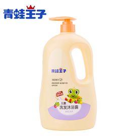青蛙王子 儿童洗发沐浴露二合一 宝宝洗发水2合1洗护用品1.1L*2