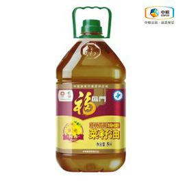 福临门 【中粮福临门1.9-1.12品牌钜献】福临门 非转基因纯香菜籽油5L (Y)