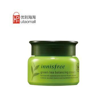 悦诗风吟  Innisfree  绿茶精萃平衡面霜 50ml 韩国进口 补水保湿 UTAOMALL