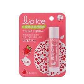 曼秀雷敦 什果冰淡彩润唇膏02#红莓3.5g(截止使用效 期约2019年11月,介意者 勿拍)