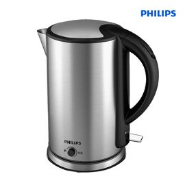 飞利浦 (PHILIPS)电热水壶 304不锈钢 保温功能烧水壶 HD9316/03 1.7L电水壶