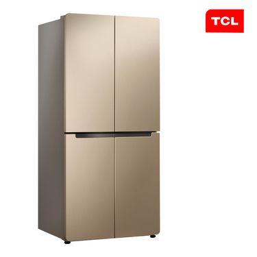 TCL 456升 十字对开多门电冰箱 冷藏自除霜 电脑控温 一体照明 魔幻空间 (流光金) BCD-456KZ50
