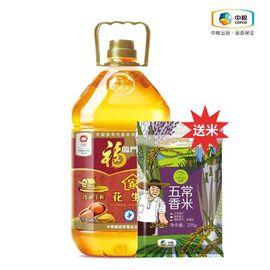 福临门 福临门 土榨花生油 天然醇香 5L(送初萃五常香米225g)