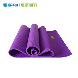 居康 瑜伽垫无味初学加长瑜伽防滑健身垫多功能运动加厚宽JFF002Q