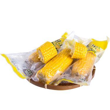 花果鲜 新果度甜黏小黄糯玉米6根装 玉米熟制作真空装开袋即食香甜挡不住
