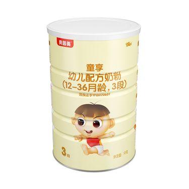 贝因美 童享幼儿配方奶粉1000克 3段12-36个月