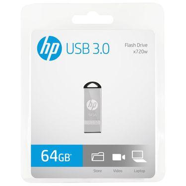 HP 惠普X720W 64GU盘3.0 金属学生USB3.0u盘64g高速传输车载优盘