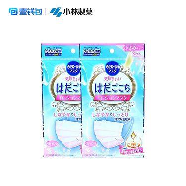 小林制药 润肌防霾保湿口罩 成人儿童款6枚装 日本进口 防PM2.5透气防尘隔尘