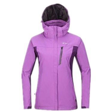 探路者 户外男女情侣三合一透湿保暖外套冲锋衣  KAWF91603/ KAWF92604 多色可选