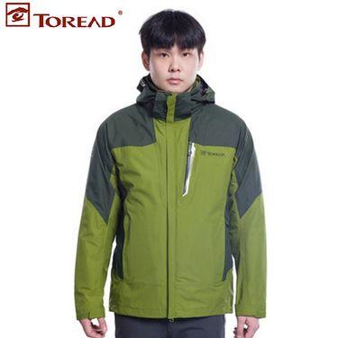 探路者 TOREAD男装二合一冲锋衣-KAWE91305