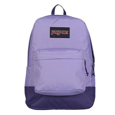 JANSPORT 杰斯伯 限量版校园撞色双肩背包书包 T60G 3P4 紫色的黎明