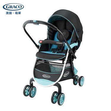 葛莱 (Graco) 城市慧智系列儿童推 车 新生儿至3岁 高景观伞车 双向推行 婴儿推车 蓝色
