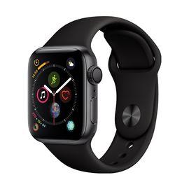Apple/苹果 Watch Sport Series 4智能手表  GPS 44毫米 深空灰色铝金属表壳搭配黑色运动型表带