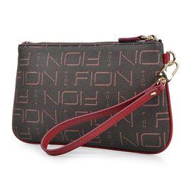 FION 菲安妮女士印花手拿包零钱包