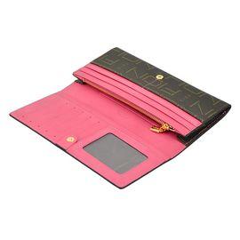 FION 菲安妮女士长款钱包 多功能女款手拿包女式两折钱夹
