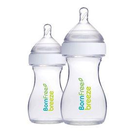 BORN FREE 9盎司+5盎司玻璃奶瓶组合装