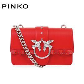 PINKO /品高 MINI LOVE女士时尚单肩链条燕子包 1P216A Y4HZ黑色 洲际速买
