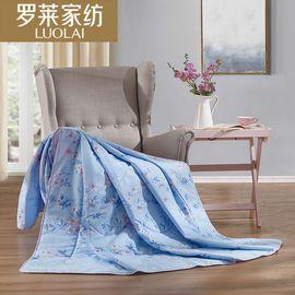 罗莱 床上用品 清新全棉夏被清逸被纯棉被芯