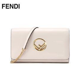 FENDI /芬迪 女士单肩斜挎包 8BS004 A0KK/F0VWM 茶花色 洲际速买