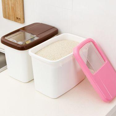 金泰康 厨房10KG大号米桶 密封盛米缸面粉储米箱