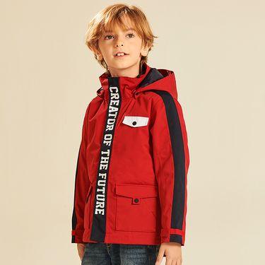 伯希和 户外儿童羽绒冲锋衣男女童加厚防风保暖登山服