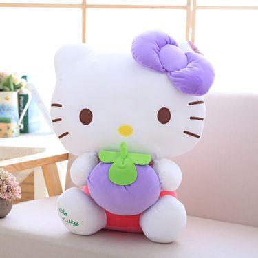 悠悠兔 hello kitty公仔 (正版)毛绒公仔玩具 pp棉 送礼