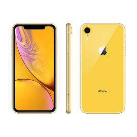 Apple/苹果 XR 128G Apple iPhone  (A2108)  黄色 移动联通电信4G手机 双卡双待