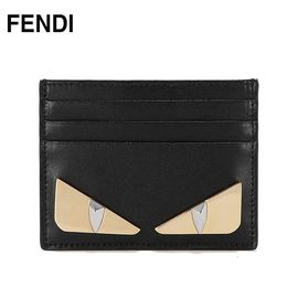 FENDI 芬迪 女士小怪兽短款款卡包钱包  黑色8M02693IFF0KUR 洲际速买