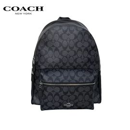 COACH 蔻驰Coach 男女款皮革双肩背包旅行包 多色可选 洲际速买
