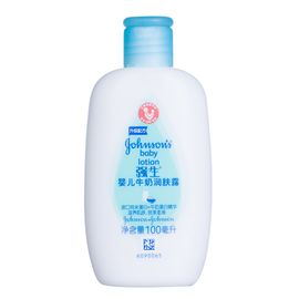 强生婴儿 强生(Johnson) 婴儿牛奶润肤露100ml 润肤乳液滋润营养保湿 含进口纯米蛋白