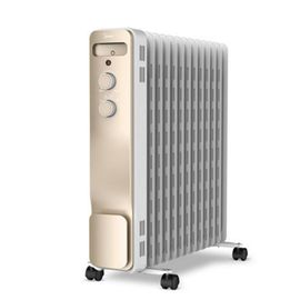 美的 /Midea 13片速热油汀电暖气取暖器 送折叠式晾衣架