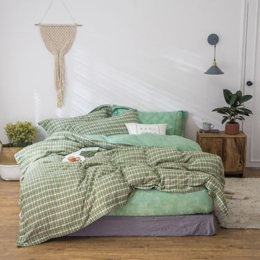 宝瑞祥 秋冬新品 双面棉绒系列  纯棉四件套 迪克森  床上用品 床品