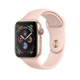 Apple 趣购吧-18年款Series4 智能手表'GPS版本'铝金属表壳运动表带,触控表盘:Force Touch触摸技术~