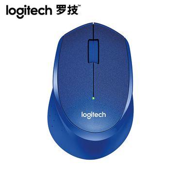 罗技 (Logitech)M330无线静音鼠标 办公家用无线鼠标 笔记本台式机电脑鼠标黑色