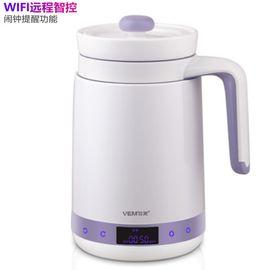 位美 智能wifi便携陶瓷煮粥杯养生杯养生壶水杯v-smart 薰衣草紫